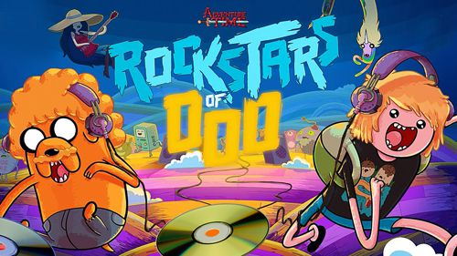 Screenshot Rockstars of Ooo: Adventure time rhythm game on iPhone
