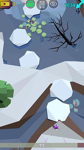 Long step: Ski racecapturas de pantalla