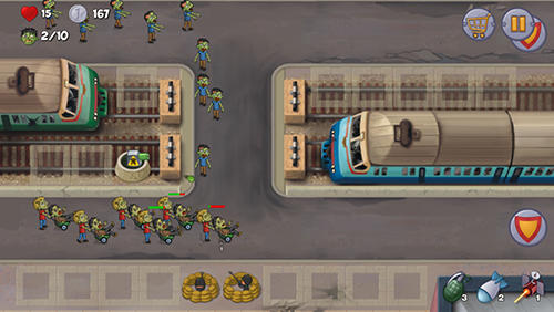Zombie town defense Screenshot