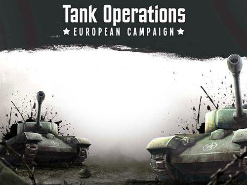 logo Opérations de chars: Campagne européenne
