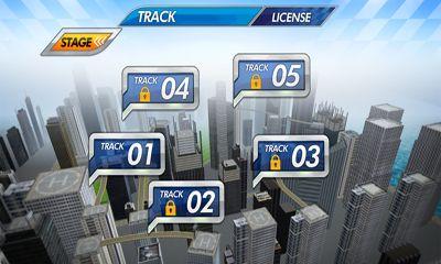 Rennspiele Sky racing G für das Smartphone