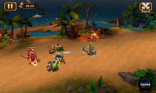 RPG Magic legion: Mists of orcs für das Smartphone