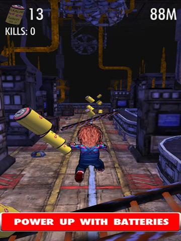 Screenshot Chucky: Schlitzen & Einsammeln auf dem iPhone