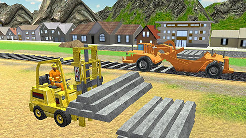 Simulation Construct railway: Train games für das Smartphone