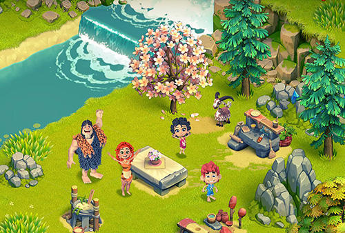 Family age: Beautiful farm adventures sim für Android
