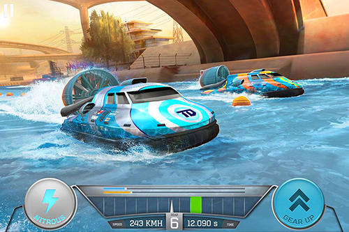 Racing games Boat racing 3D: Jetski driver and furious speed for smartphone