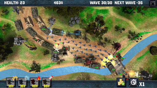 Strategie World at war: Epic defence 3D für das Smartphone
