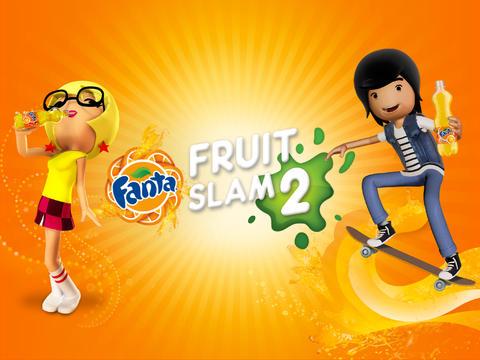 logo Fanta Früchte Werfen 2