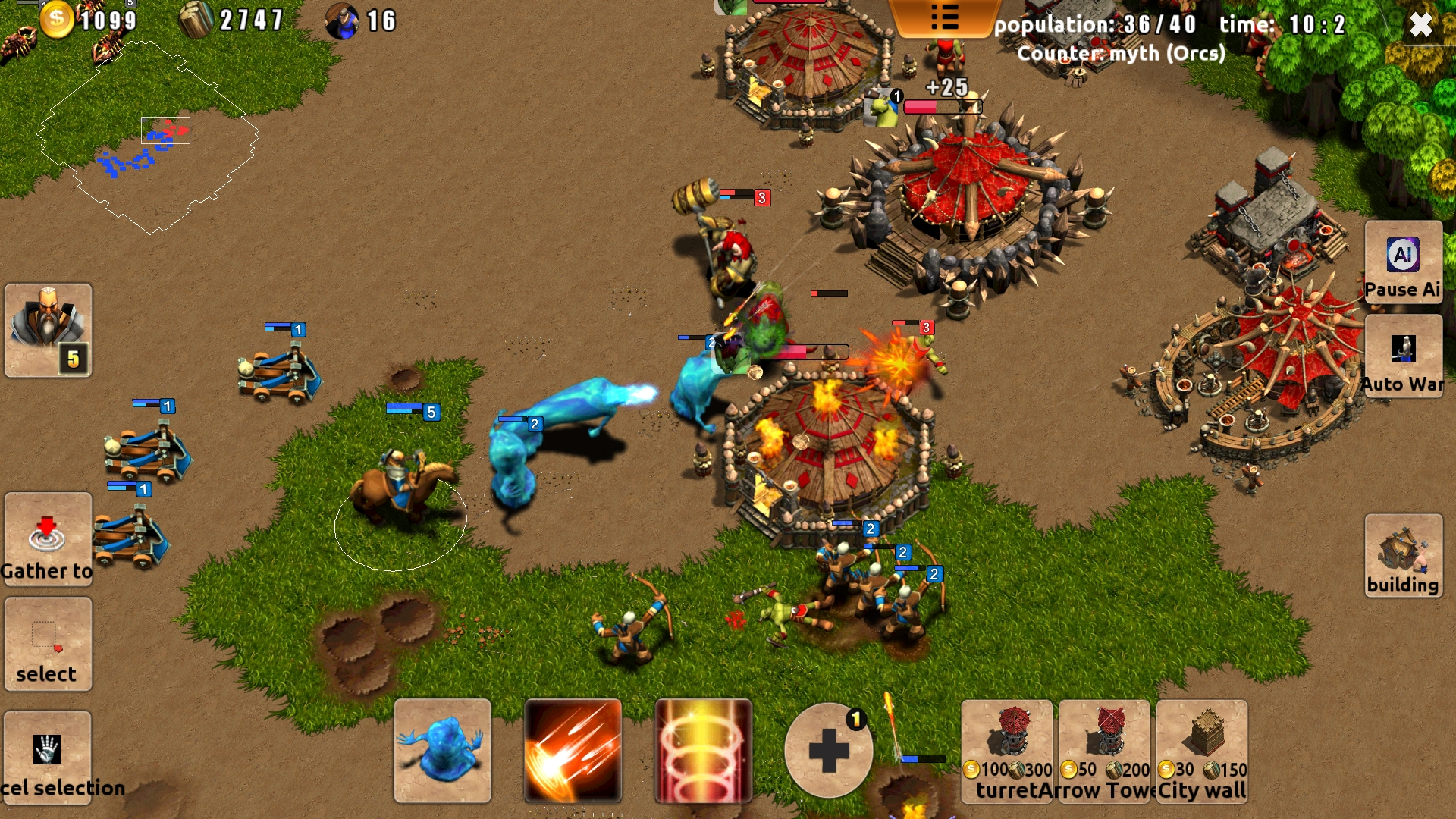 Magic War für Android