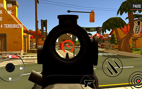 FPS games Counter attack terrorist city in English