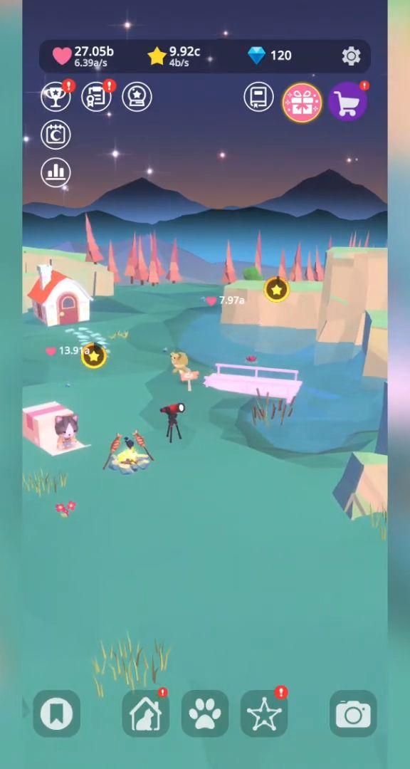 Starry Garden : animal park screenshot 1