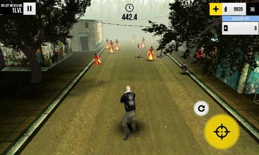 Actionspiele Last run: Dead zombie shooter für das Smartphone