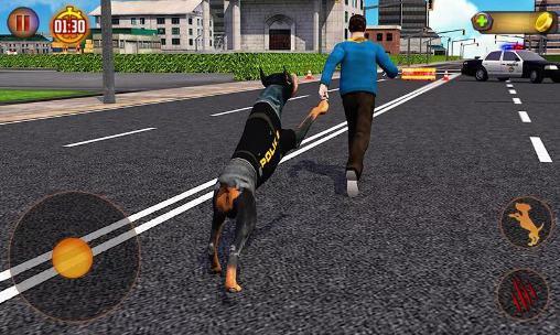 Simulation Police dog simulator 3D für das Smartphone