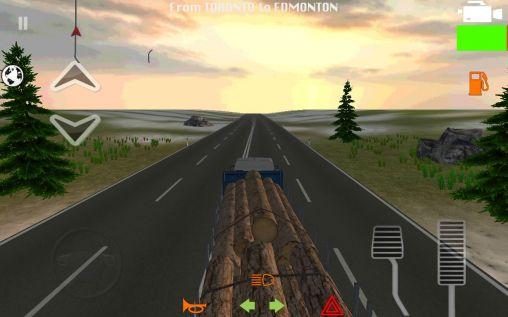 Truck simulator 2014 capture d'écran 1