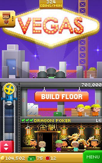 d'arcade Tiny tower: Vegas pour smartphone