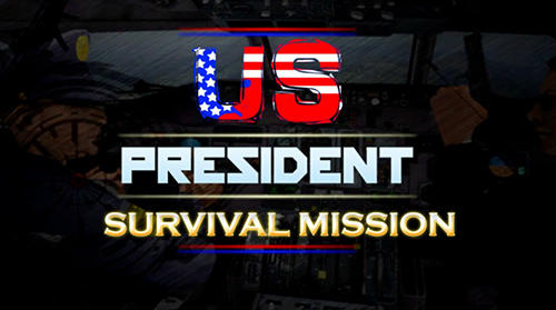 US president survival mission: Counter terror war Symbol