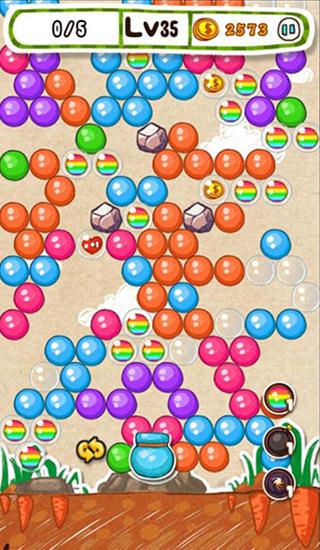 Arcade-Spiele Doodle bubble für das Smartphone
