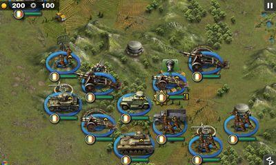 Glory of Generals HD captura de tela 1