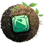 Elemental jewels: Match 3 game Symbol