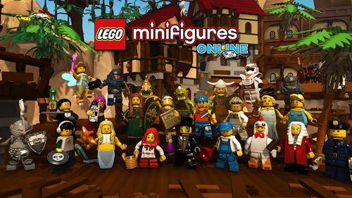 logo Lego minifigures: En ligne