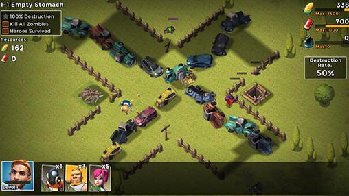 Onlinespiele Clash Z für das Smartphone