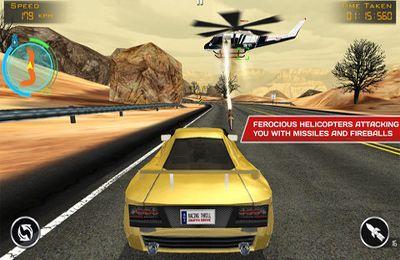 Screenshot Todesrennen: Gefährliches Rennen auf dem iPhone