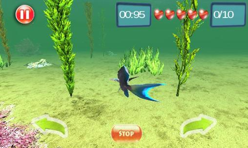 Arcade Underwater world adventure 3D für das Smartphone