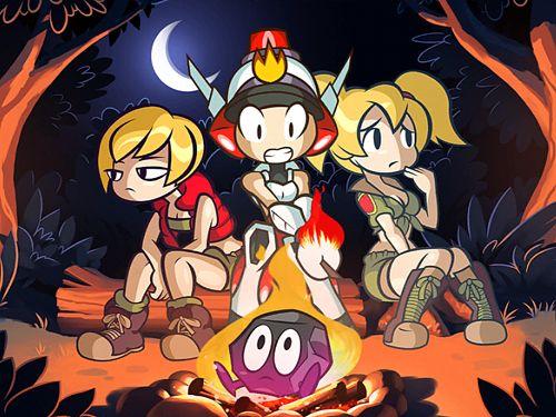 Arcade-Spiele: Lade Mighty Switch Force! Lösche es! auf dein Handy herunter