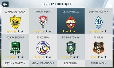 Online games FIFA 14 for smartphone