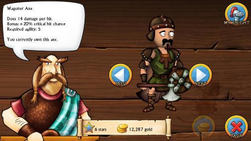 Arcade Swords and sandals: Medieval für das Smartphone