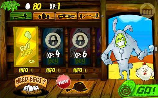 Arcade-Spiele Zombie sports: Golf für das Smartphone