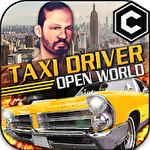 Open world driver: Taxi simulator 3D free racing icon
