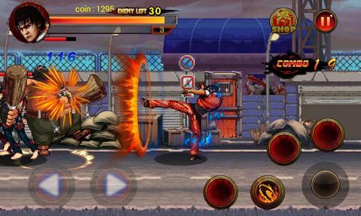 King of kungfu: Street combat capture d'écran 1
