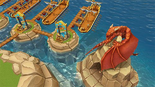 Dragon lords 3D strategy für Android