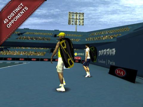 Tennis Simulation 2 für iPhone