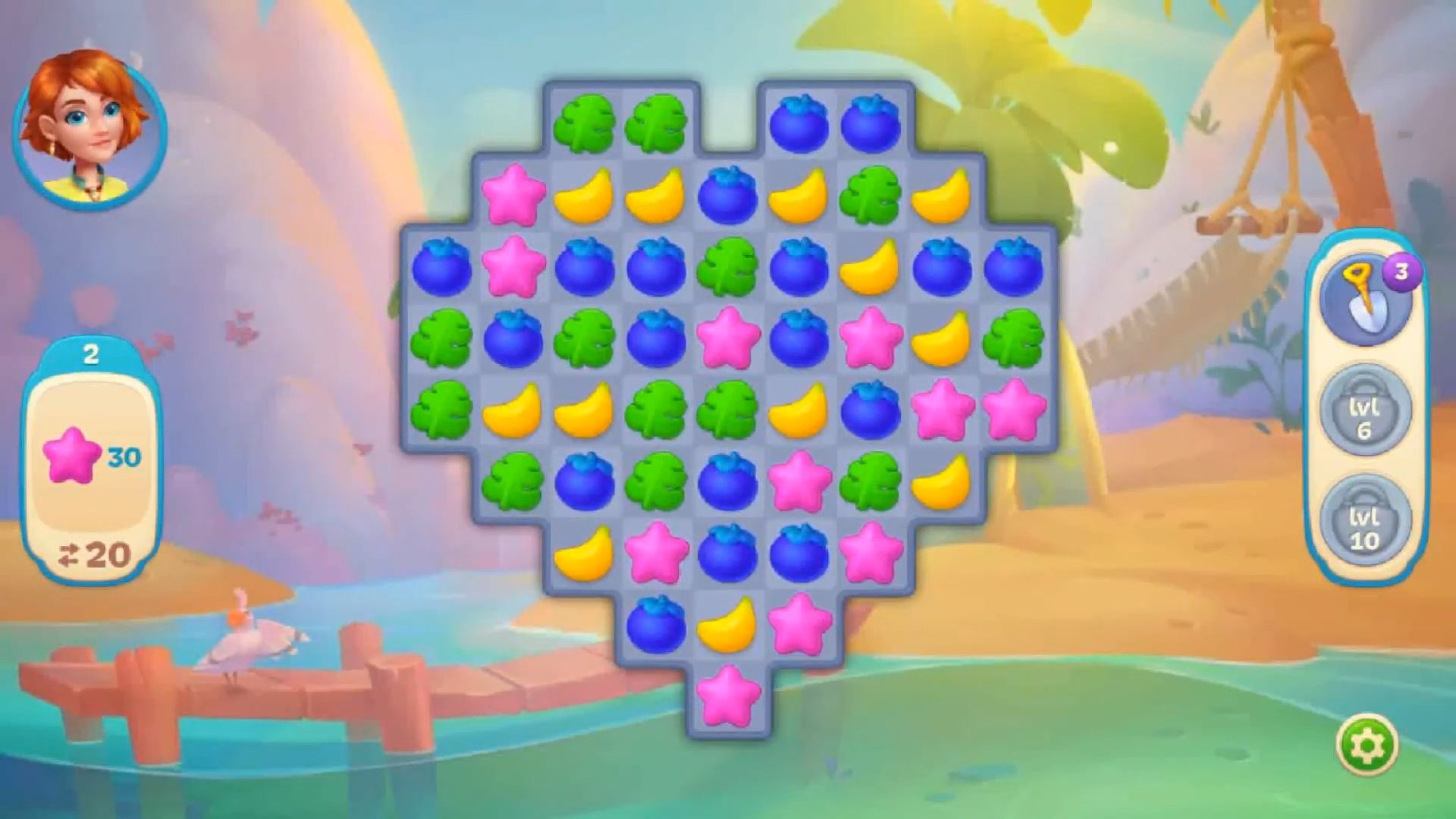 Hawaii Match-3 Mania Home Design & Matching Puzzle für Android