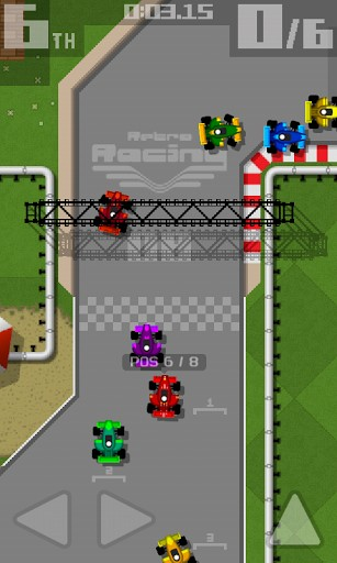 Retro racing: Premium for Android
