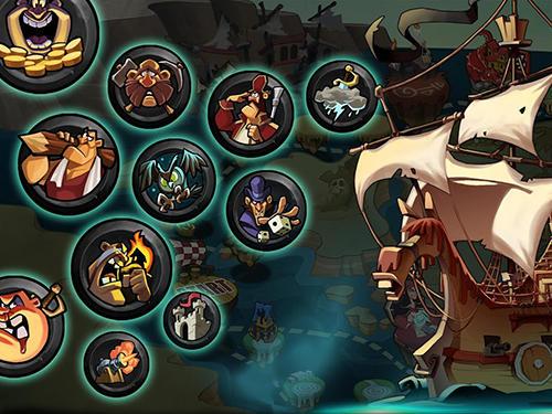 Onlinespiele Pirates war: The dice king für das Smartphone