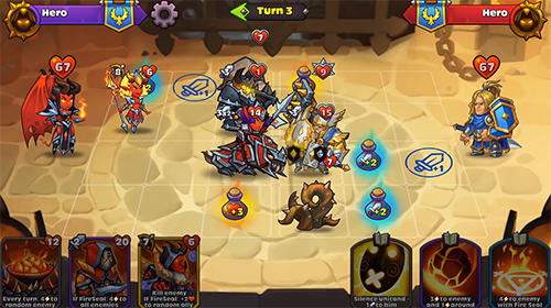 Heroes of magic: Card battle RPG Screenshot
