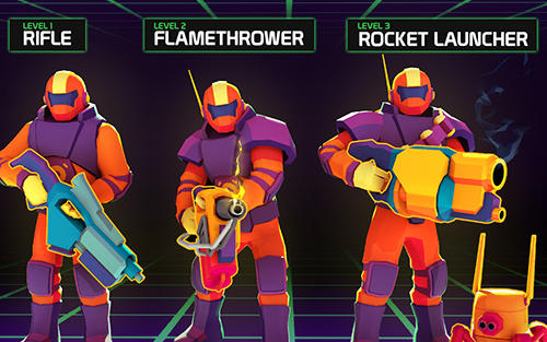 Action Space pioneer: Shoot, build and rule the galaxy für das Smartphone