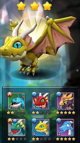 Onlinespiele Clash of kings 2: Rise of dragons für das Smartphone