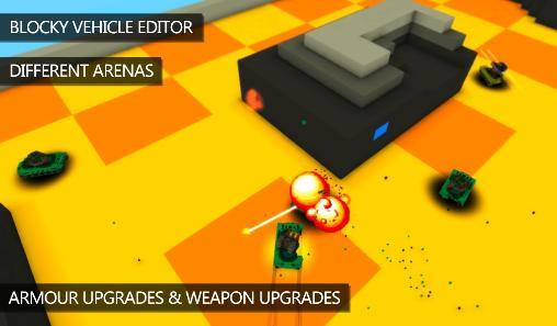 Blocky war machines для Android