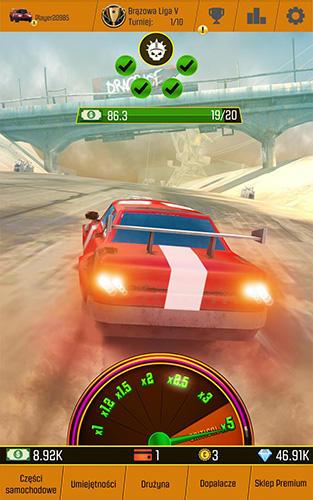 カー・レーシング・クリッカー: ドライビング・シミュレーション・アイドル・ゲームズ スクリーンショット1