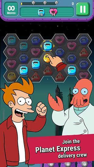 Futurama: Game of drones für Android