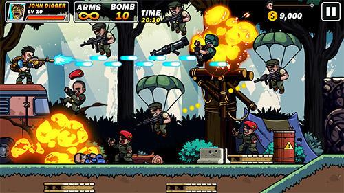 Metal mercenary: 2D platform action shooter für Android