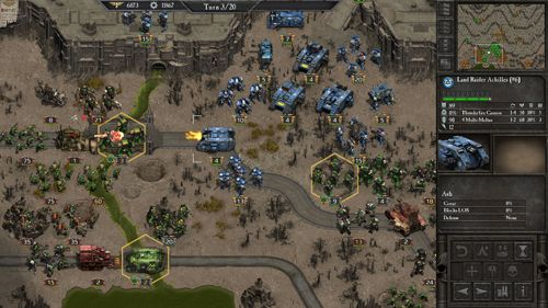 Screenshot Warhammer 40 000: Armageddon auf dem iPhone