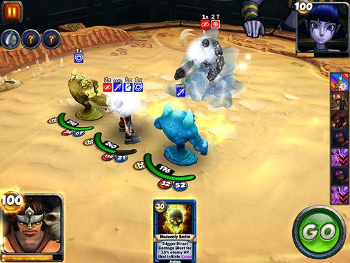 Card king: Dragon wars captura de tela 1