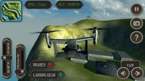 V22 Osprey: Flight simulator screenshot 1