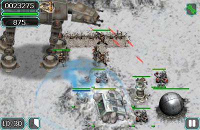 Screenshot Krieg der Sterne: Kampf um Hoth auf dem iPhone