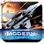 Jet fighters: Modern air combat 3D Symbol